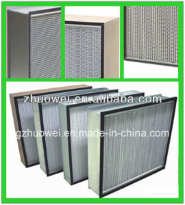 Deep-Pleat High Efficiency Air Filter pictures & photos