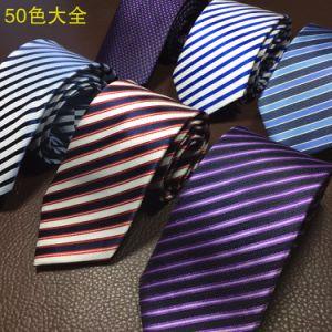 100%Polyester Tie, Men′s Stock Business Slim Necktie (A012) pictures & photos
