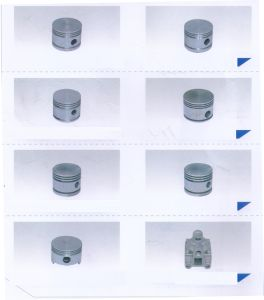 Air Compressor Fittings Aluminium Alloy Die Casting Parts pictures & photos