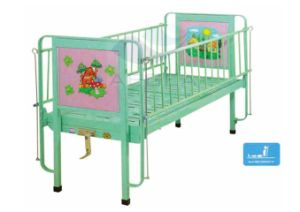 AG-CB002 Ce&ISO Approved with Full Length Steel Handrails Pediatric Hospital Bed pictures & photos