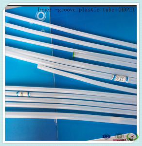 Custom Color China Factory HDPE Multi-Groove Medical Grade Catheter for Sheath pictures & photos