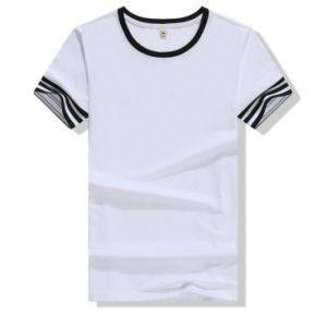 New Design Men′s Round Neck T-Shirt pictures & photos