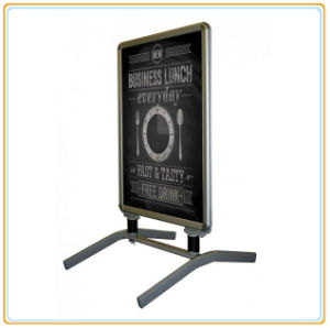 Fine Appearance Retail Shop Poster Stand/Poster Rack (E06P8) pictures & photos