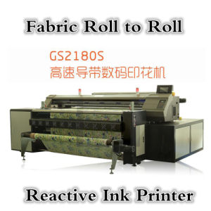 Reactive Ink Printing Machine with Two Epson Dx5 pictures & photos