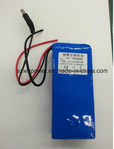 Lithium Polymer Rechargeable Battery 12V11A Lithium Polymer Battery for Backup Power LED Lights pictures & photos