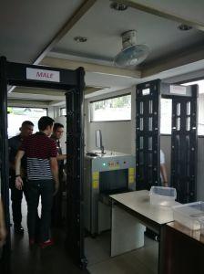 Portable Full Body Scanner Door Frame Walk Through Metal Detector pictures & photos