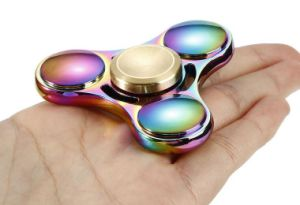 Metal Fidget Spinner with Time 4 Minutes Finger Spinner Fidget Toys for Adults pictures & photos