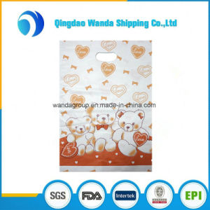 Heavy-Duty Plain Color Die Cut Bag with Flat Open Top pictures & photos