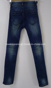 Deep Blue Girls Jeans on Sale (J003) pictures & photos