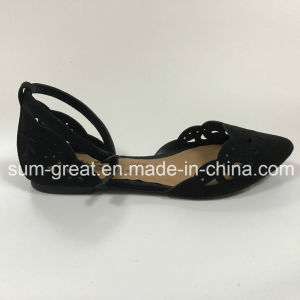 New Style Ladies Shoes Flat Shoe pictures & photos