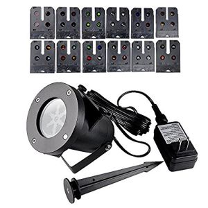 Multi 12PCS Slides Landscapke LED Light Show Holiday pictures & photos