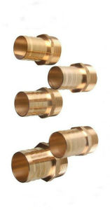 Male Thread Gas Brass Connector Pipe Fittings (EM-F-127) pictures & photos