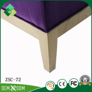 Modern Purple Chair for Restaurant in Beech (ZSC-72) pictures & photos