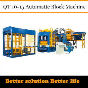 Fully Automatic Brick Making Machine Qt10-15 Dongyue pictures & photos