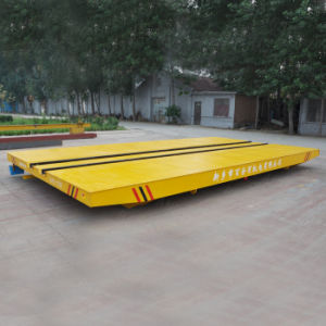 Motorized Railway Handling Vehicle Used in Metallurgical Industry (KPC-10T) pictures & photos