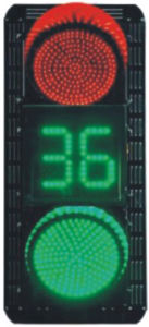 LED Traffic Signal Light (JD300-3-ZGSM-3A) pictures & photos