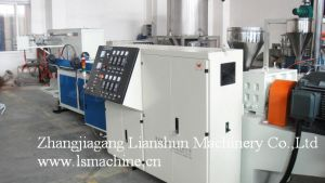 CE/SGS/ISO9001 PE and PVC Single-Wall Corrugated Pipe Extrusion Line pictures & photos