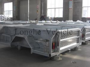 7x4ft off Road Steel Camping Trailer (CPT-07) pictures & photos