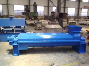 Double Screw Squeezer Machine for Dewatering in Paper Pulp
