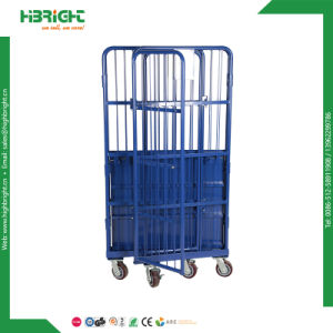 Warehouse Foldable Storage Roll Container pictures & photos