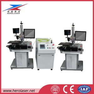 High Speed Scanning Head Spot Fiber Transmission Laser Welding Machine for 18650 Battery pictures & photos