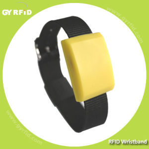 NFC Silicon Wristbands Used for NFC Payment, Event Ticketing (GYRFID) pictures & photos