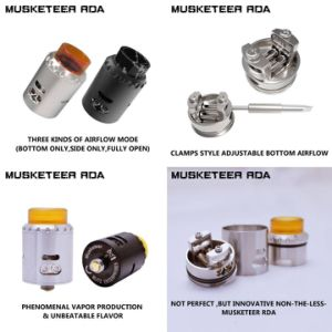 First Batch Authentic Blitz Enterprises Musketeer Rda pictures & photos