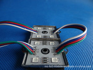 4 Chips 5050 SMD IP65 Waterproof LED Modules pictures & photos