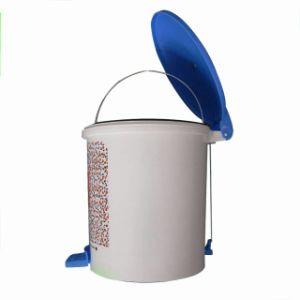 Plastic Dustbin, Pedal Bin, Trash Can (QF043)