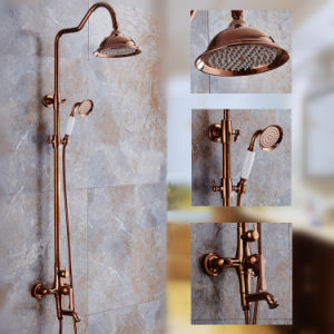 Copper Plated Bathroom Bath Shower Faucet pictures & photos