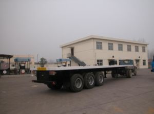 Flat Bed Semi-Trailer