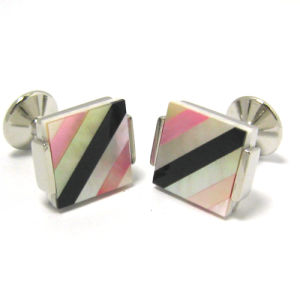 Men′s High Quality Metal Cufflinks (H57) pictures & photos