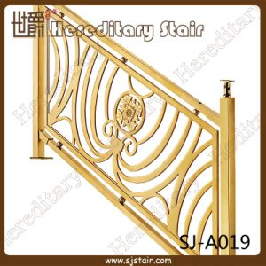 Gulch Gold Grand Staircase for Railing (SJ-A019) pictures & photos
