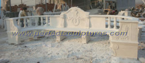 Carved Stone Marble Garden Chair for Outdoor Furniture (QTC035) pictures & photos