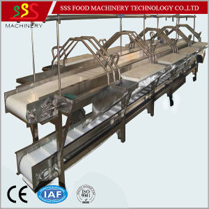 Customized Manual Fish Cutting Processing Chopping Workbench Table pictures & photos