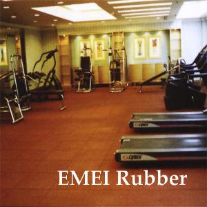 Anti-Slip Rubber Indoor Sports Flooring pictures & photos