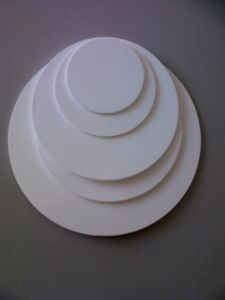 White PTFE Plastic Sheet Used for Electrical Insulation Parts pictures & photos