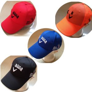 Adjustable Golf Cap Summer Cap with Football Pattern Lines pictures & photos