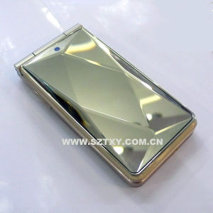 FM Dual SIM Cards D686 Golden MP3 MP4 Cell Phone