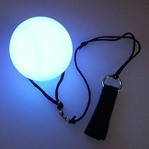 Glow Light up LED Poi Balls for Dancing pictures & photos