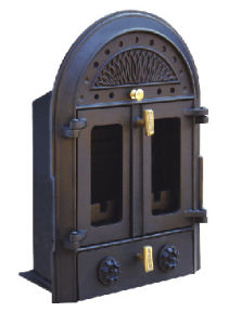 Inserted Wood Burning Cast Iron Stove (FIPD001) Fireplace pictures & photos