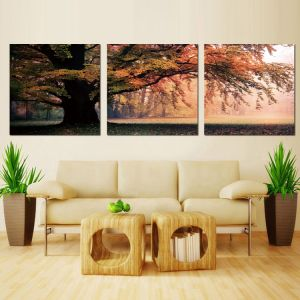 3 Piece Modern Wall Art Printed Painting Landscape Painting Room Decor Framed Art Picture Painted on Canvas Home Decoration Mc-242 pictures & photos