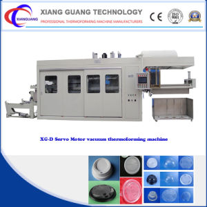 High Speed Steady Intelligent PLC Control Servo Plastic Thermoforming Machine pictures & photos