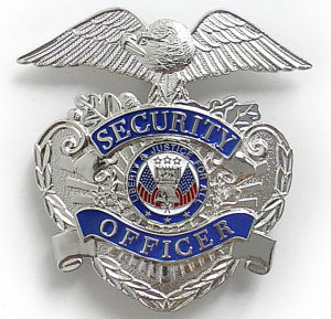 Police Badge / Copper Police Emblem