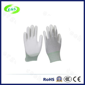 New Non-Slip Lint Free ESD Fit Gloves Fiber Antistatic Glove pictures & photos