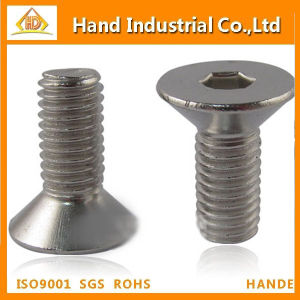 DIN7991 Screw Hex Socket Csk Head Screw pictures & photos