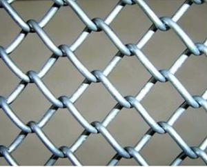 High Quality PVC Coated Chain Link Fence (DJ-190)