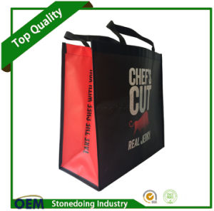 Promotional Foldable Reusable 100GSM Laminated Non Woven Bag pictures & photos