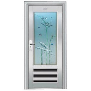 Stainless Steel Compound Door (XY-7032)