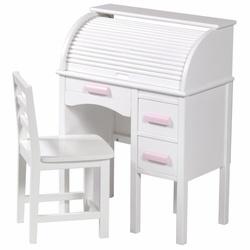 Roll Top Desk - White (MMW016)